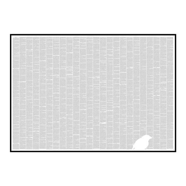 Knižný plagát O pôvode druhov, 118,9x84,1 cm