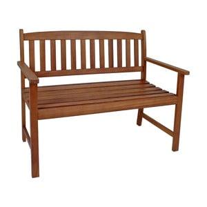 Záhradná lavica z eukalyptového dreva ADDU