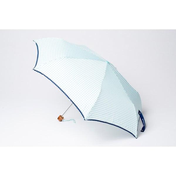 Skladací dáždnik Alvarez Vichy Blue Aqua