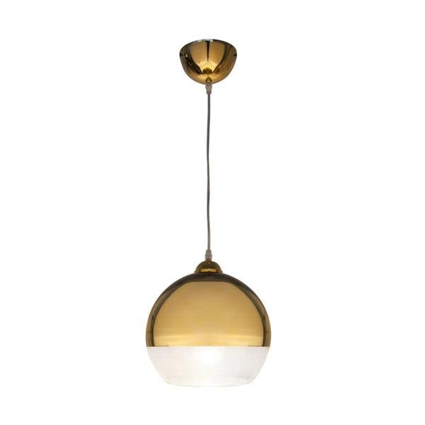 Závesné svietidlo Scan Lamps Lux Gold, ⌀25cm