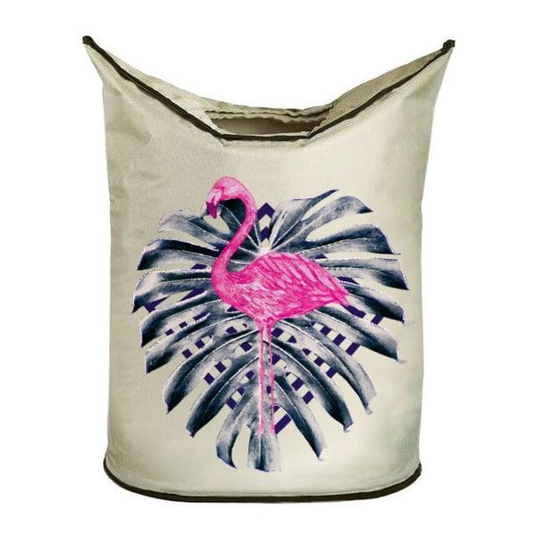 Kôš na bielizeň Pink Flamingo