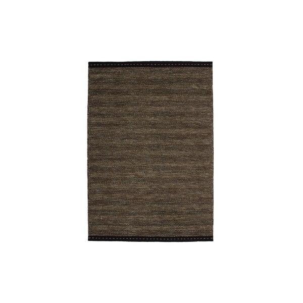 Vlnený koberec Mariposa 160x230 cm, hnedý