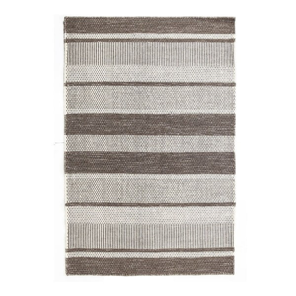 Vlnený koberec Sheen Grey, 160x230 cm