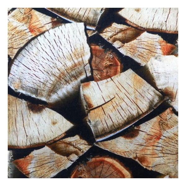 Vankúš Wood Fireplace 50x50 cm