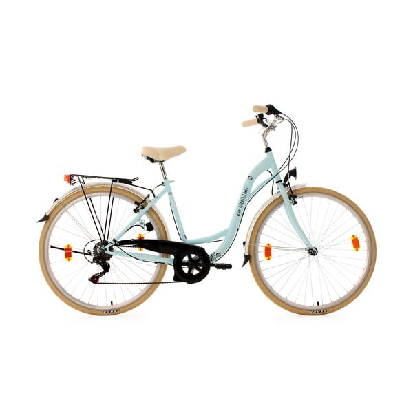 Dámsky bicykel City Bike Casino Blue, 28""