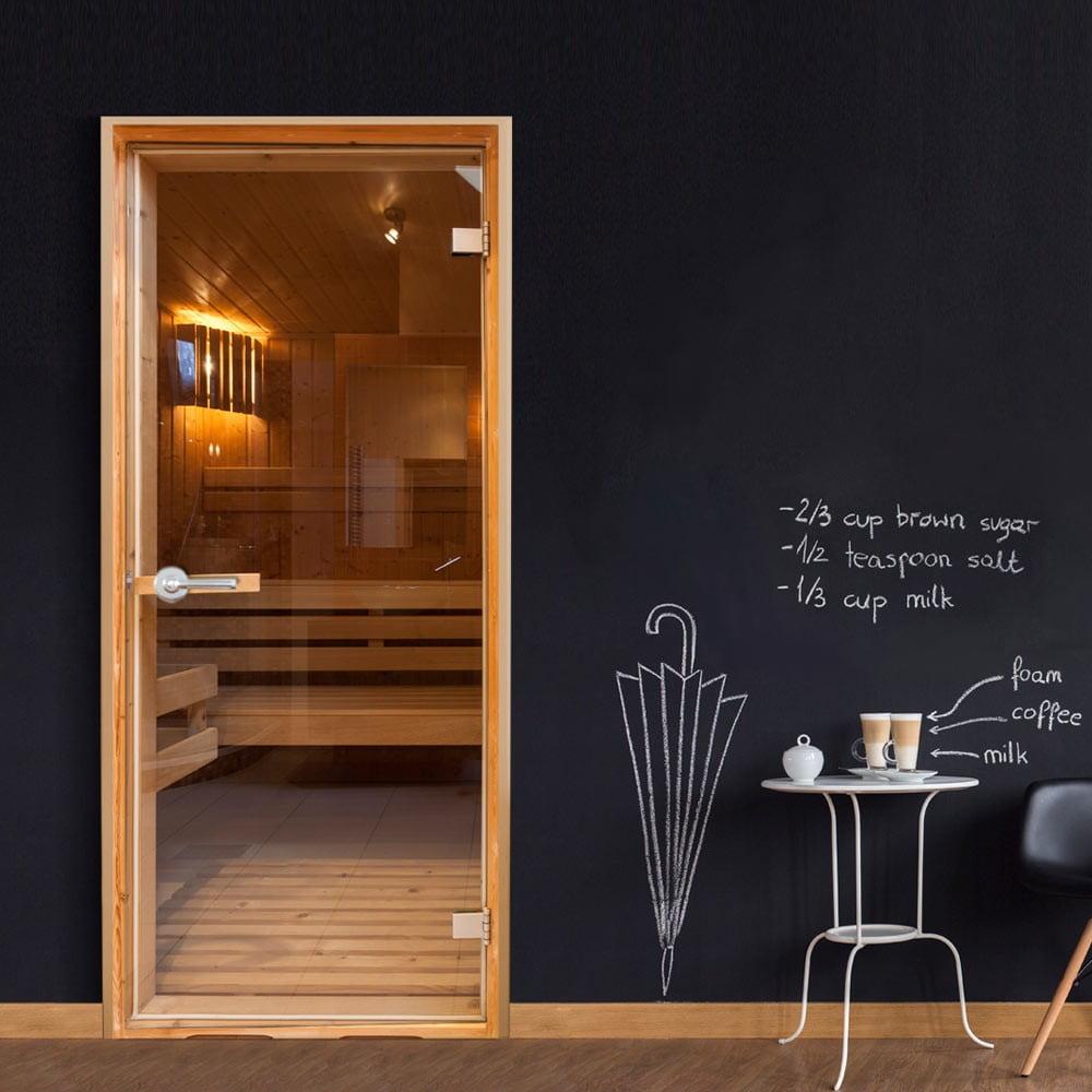 Tapeta na dvere v rolke Bimago Sauna, 90 x 210 cm