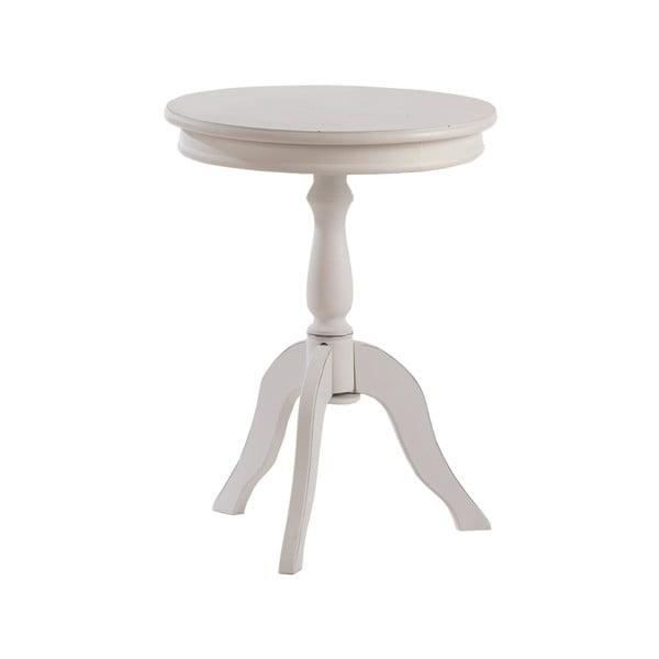 Okrúhly odkladací stolík White Round Table