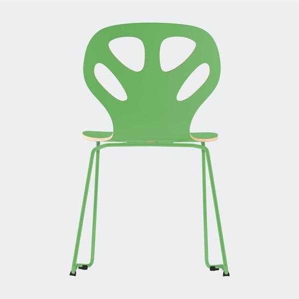 Stolička Maple, zelená