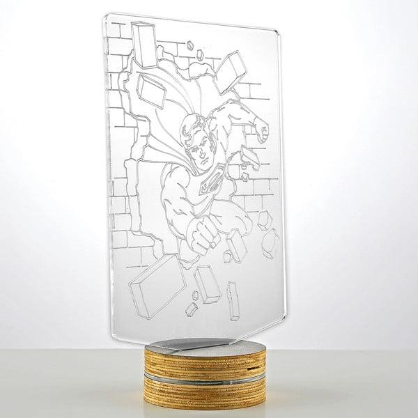 3D stolová lampa Superman