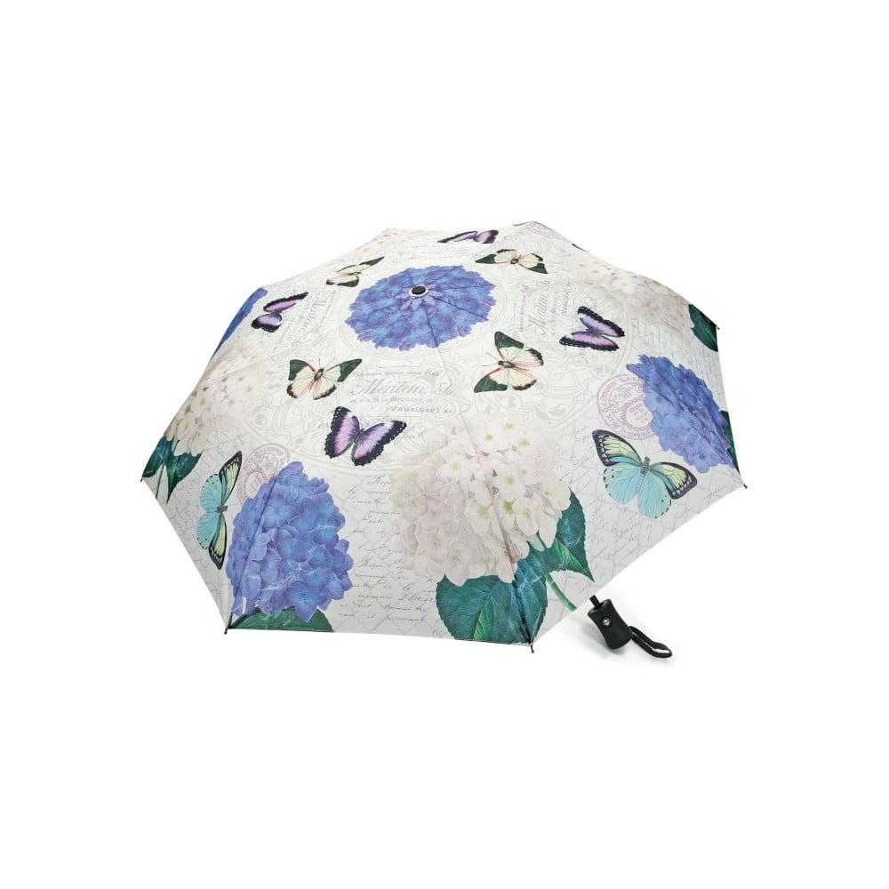 Skladací dáždnik Butterflies, ⌀ 100 cm
