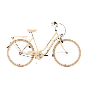 Dámsky bicykel City Bike Casino Beige Three Gang, 28""