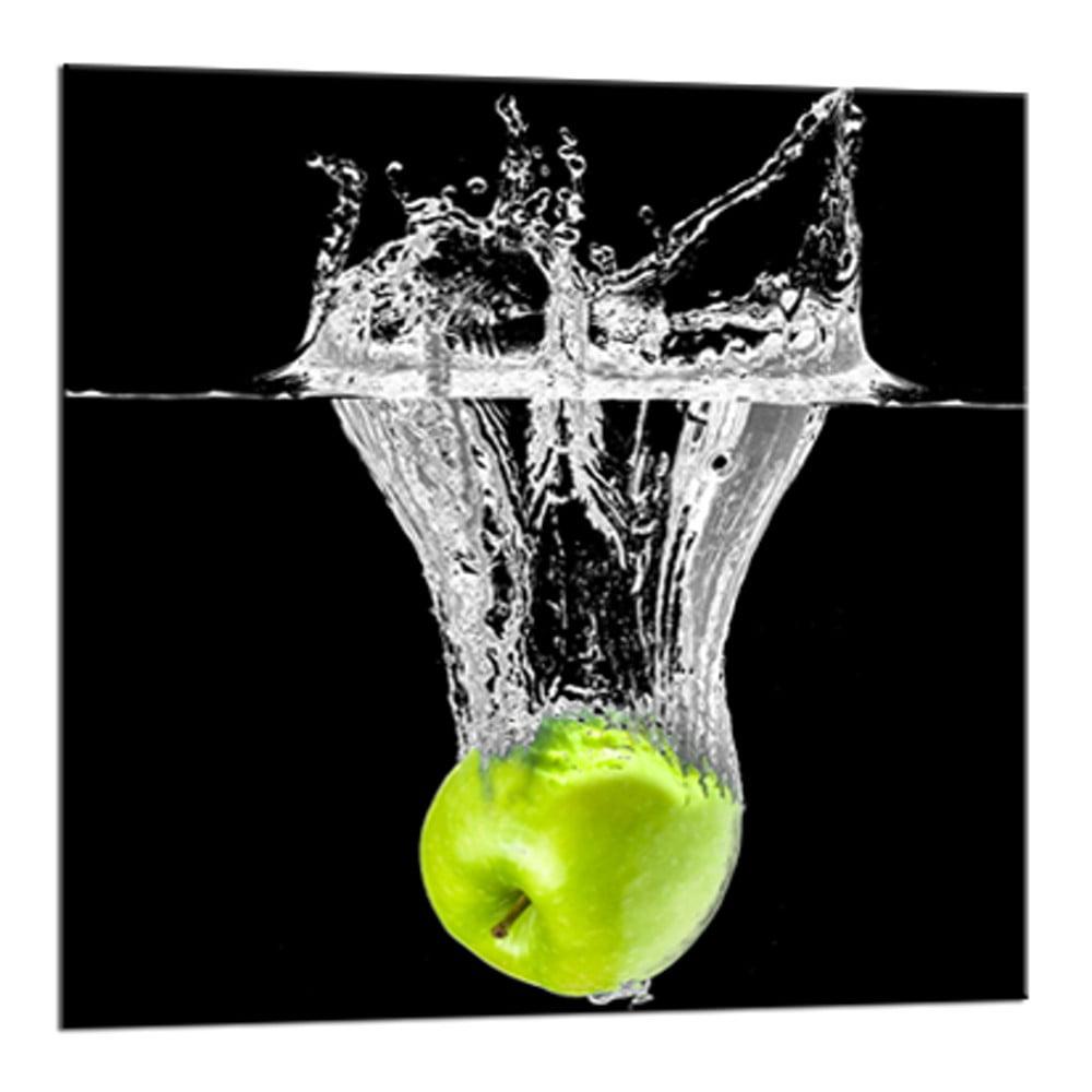 Obraz Styler Glasspik Green Fruits, 20 × 20 cm