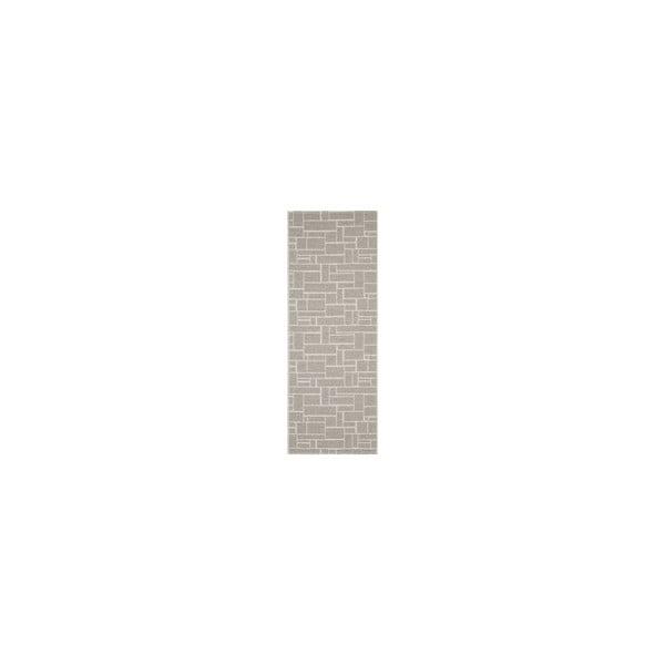 Vysoko odolný koberec Dama V21, 60x200 cm