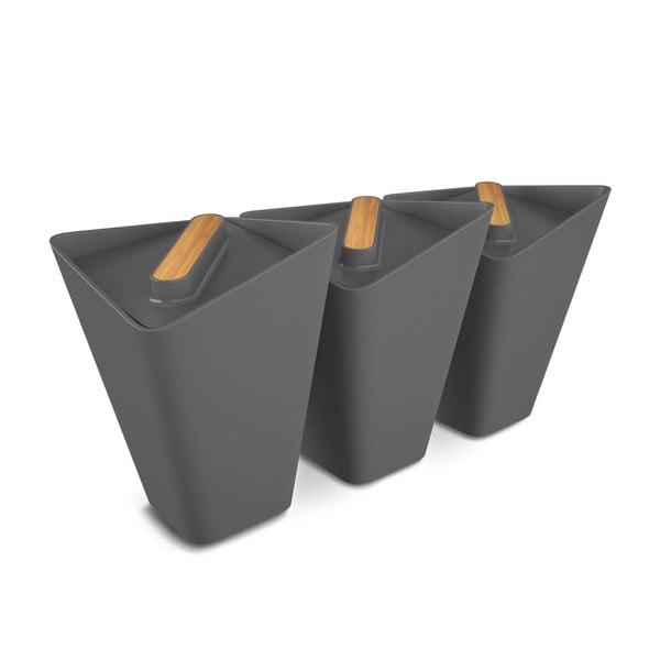 Sada kuchynských nádob Storage Jars, sivá