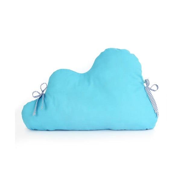 Bavlnená výstelka do postieľky Mr. Fox Nube Turquoise, 60×40cm