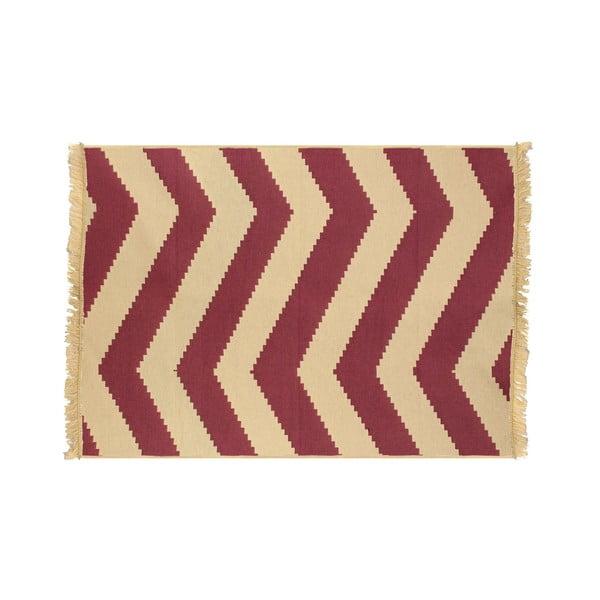 Koberec Zigzag Claret Red, 120x180 cm