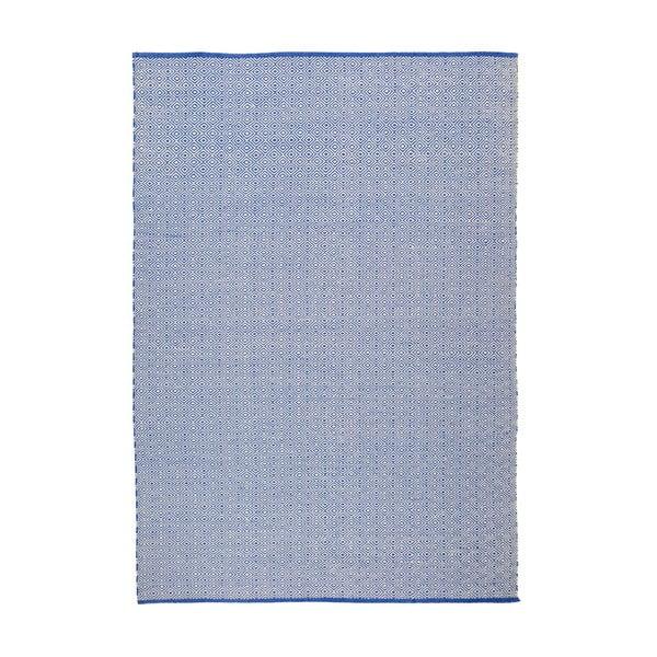 Koberec Calvino White/Blue, 120x180 cm