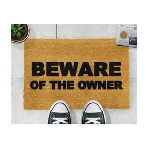 Rohožka Artsy Doormats Beware of the Owner, 40 × 60 cm