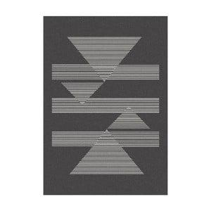 Tmavosivý koberec MOMA Norway, 120×170cm