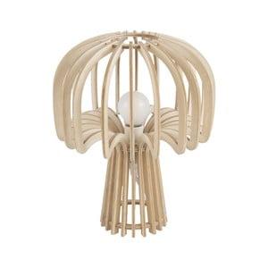 Skladacia drevená stolová lampa Leitmotiv Globular Mushroom