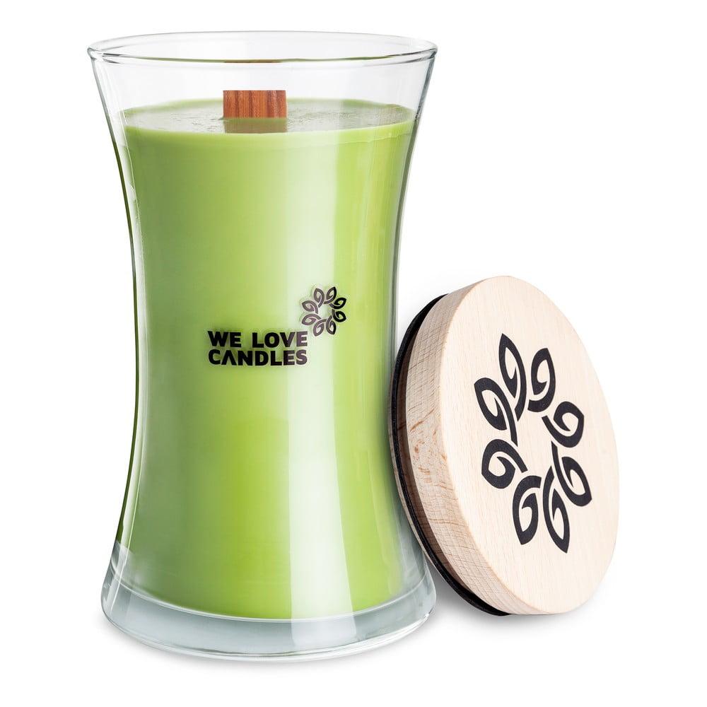 Sviečka zo sójového vosku We Love Candles Green Tea, doba horenia 301 hodín