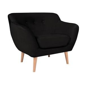 Čierne kreslo BSL Concept Eleven