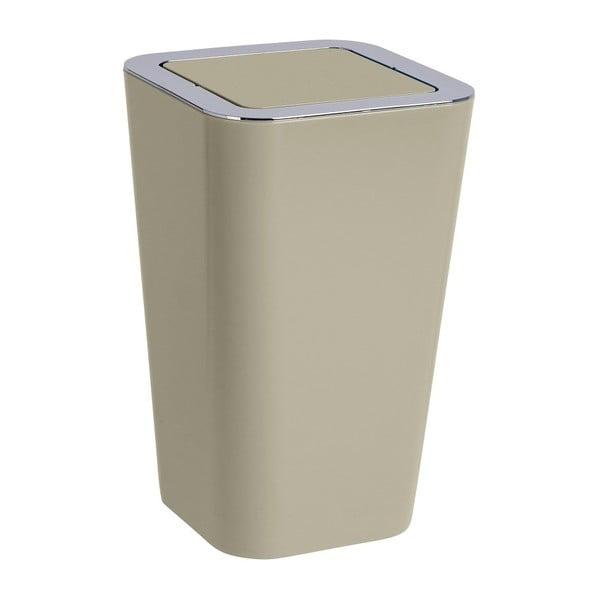 Sivohnedý odpadkový kôš Wenko Candy