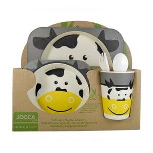 Detský jedálenský set JOCCA Cow