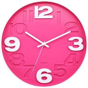 Hodiny Pink Play, 30 cm