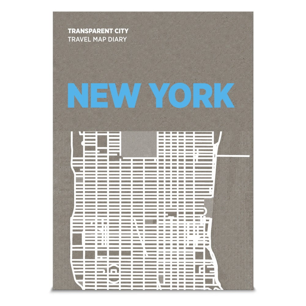 Mapa na poznámky Palomar Transparent City New York