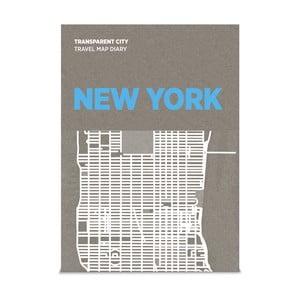 Mapa na poznámky Palomar Transparent City New York