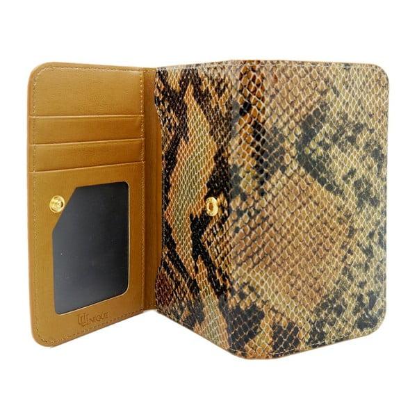 Obal na iPhone6 Wallet Snake Tan