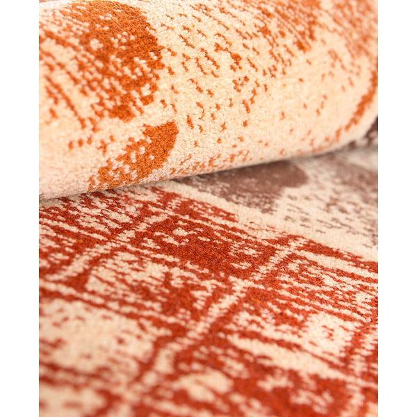 Vlnený koberec Coimbra no. 183, 140x200 cm, okrový