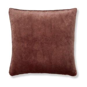 Hnedá obliečka na vankúš Catherine Lansfield Basic Cuddly, 55×55 cm