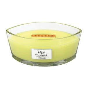 Sviečka s vôňou ľalií a citrónovej trávy Woodwick, doba horenia 80 hodín