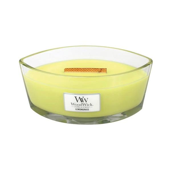 Vonná sviečka WoodWick Citronová tráva a ľalia, 453g