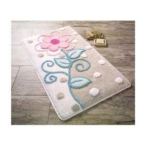Béžovo-biela predložka do kúpeľne Confetti Bathmats Parsa, 60 x 100 cm