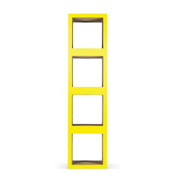 Kartónová knižnica Bit Quattro Yellow