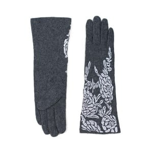 Sivé dámske rukavice Art of Polo Elsa