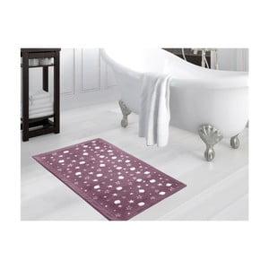 Tmavofialová kúpeľňová predložka Sea, 70×110 cm