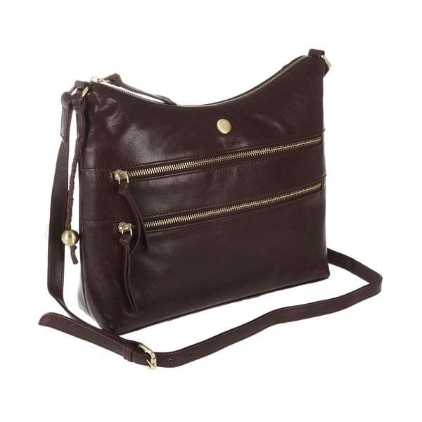 Dámska kožená taška Ginny Brown