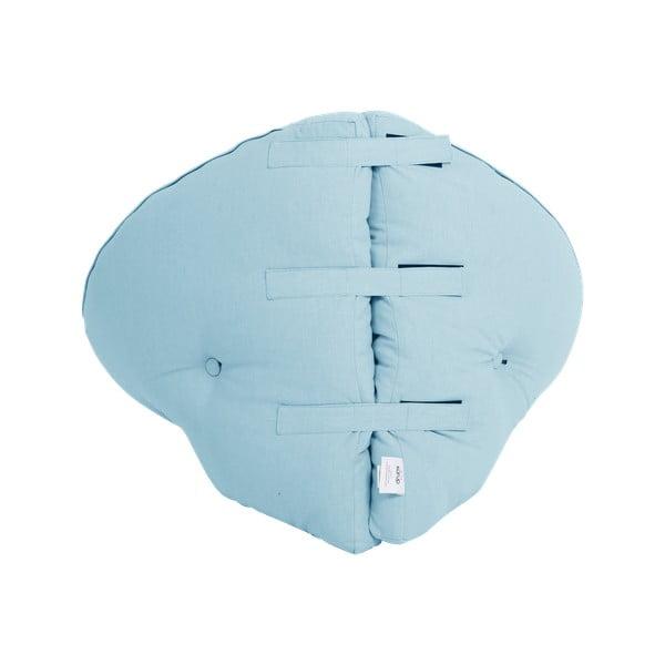 Detské rozkladacie kresielko Karup Design Mini Nido Light Blue