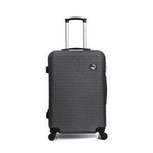Tmavosivý cestovný kufor na kolieskách BlueStar Porto, 64 l