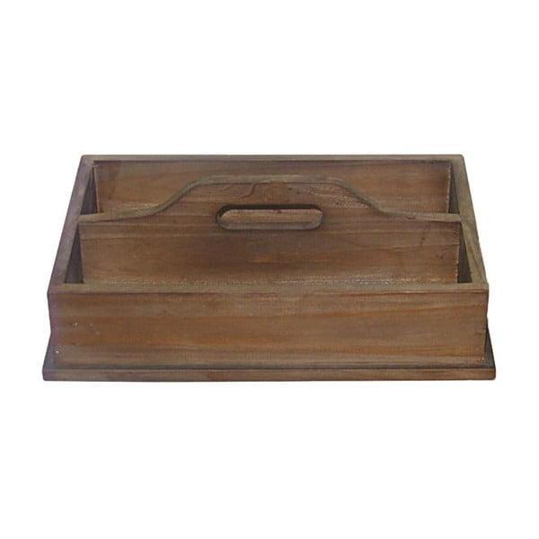 Drevený podnos Wooden Double