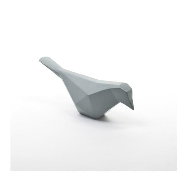 Minimalistická dekorácia Oiseau, šedo-modrá