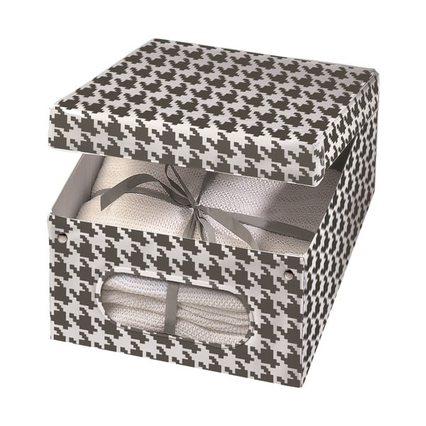 Úložná krabica Pied Poule, 50x42 cm