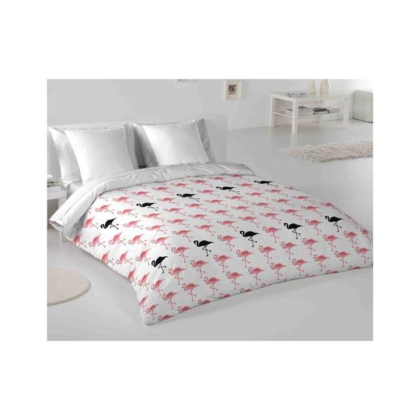 Obliečky Hipster Flamingo, 200x200 cm