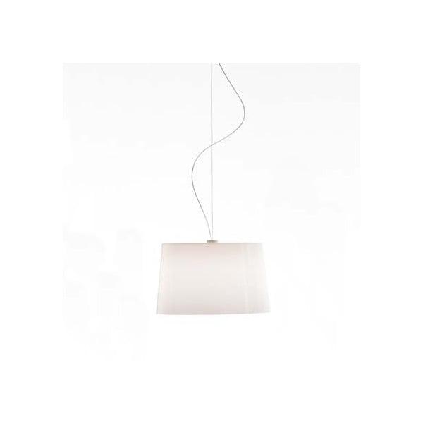 Závesné svietidlo Pedrali L001S/B, plne biele