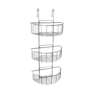 Závesná polica do sprchy Ta-Tay Triple Oval Storage Basket