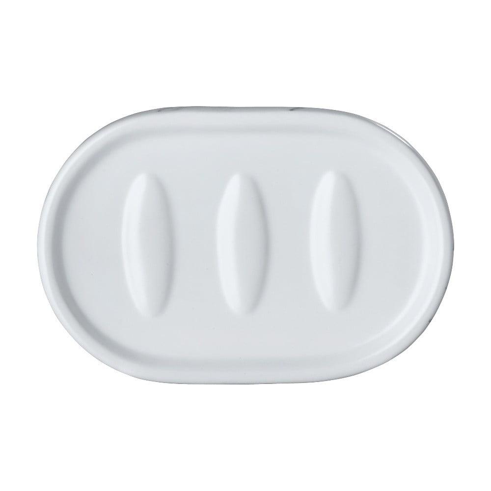 Biela keramická nádoba na mydlo Wenko Adrada